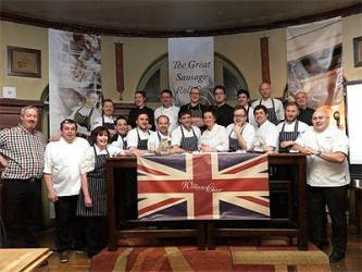 Ben's Canteen comes top in the 2014 Sausage Roll off