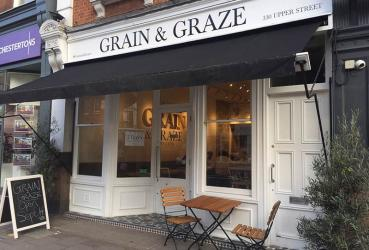 Grain and Graze is a Merchant Gourmet Islington pop-up restaurant