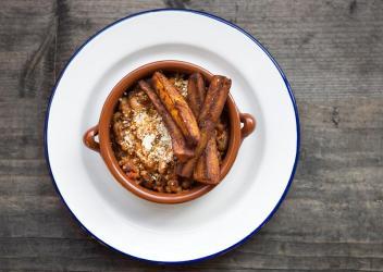 Zoe's Ghana Kitchen pops up at Soho's The Sun & 13 Cantons