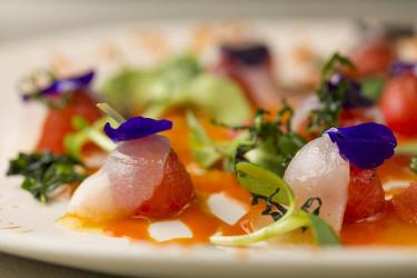 Eat Club Gascon's Michelin-starred food in the cloisters of a medieval church