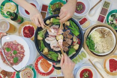 Hot pot meets Korean barbecue at Shaftesbury Avenue pop-up Mookrata