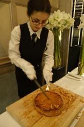 Chefs gather at The Connaught for Helene Darroze's Galette des Rois party