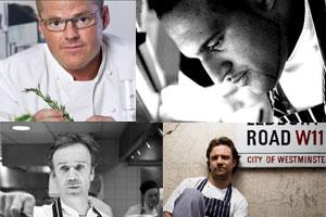 Ledbury and Marcus Wareing make the top 5 in Sunday Times Food List
