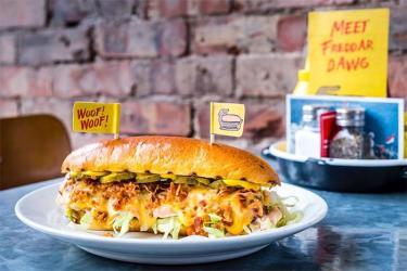 Byron launches new burger - the Freddar Dawg