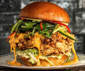 Chick n Sours launches the huge Macho Nacho burger