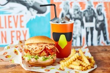 CHIK'N from Chick 'N Sours hits Baker Street - and they do breakfast