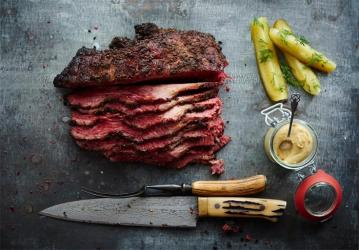 Home-smoked pastrami & more from Cure and Cut deli in Covent Garden