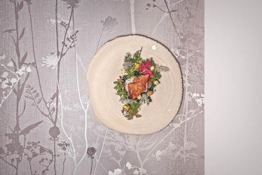 Seven courses of wallpaper-themed dining awaits you in Soho, courtesy of Pedro Passinhas