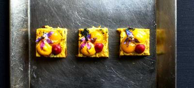 You can now order party canapes on Deliveroo