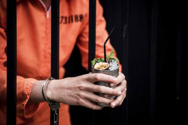 Alcotraz is Brick Lane's new prison-themed pop up where you smuggle in liquor past guards
