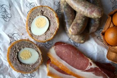 Ginger Pig launches new limited edition Bacon scotch egg