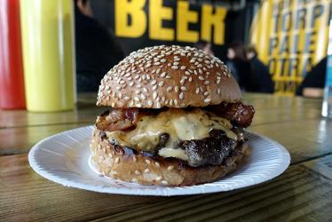 Bleecker St Burger is back on the South Bank for the summer