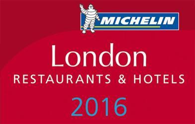 Michelin starred restaurants in London for 2016