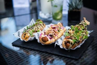 Rockadollar hotdogs come to Shoreditch with McQueen's new terrace