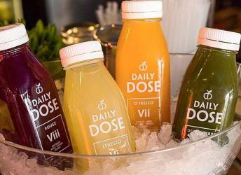 Daily Dose juice bar is taking over the ground floor of Matt Roberts gym in Mayfair