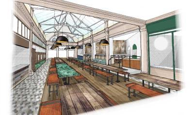Market Halls have six huge food halls planned for London