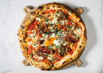 Jason Atherton's Hai Cenato is putting a breakfast pizza on the brunch menu