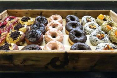 Crosstown Fitzrovia will be the doughnuts and coffee company's second cashless site