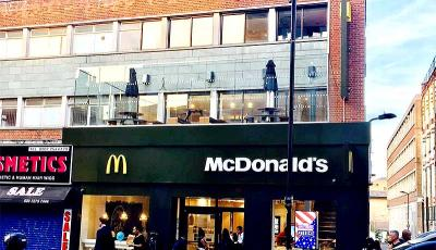 McDonald's Dalston has a terrace and 3000 people wanted to party there