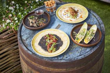 Foley's brings middle-eastern tacos to John Lewis's rooftop