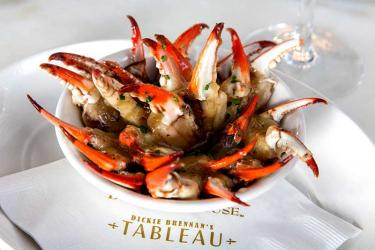 New Orleans chef Dickie Brennan is popping up at Canary Wharf's Boisdale