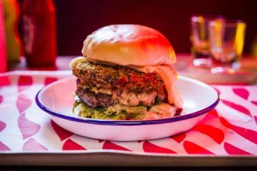 The Barrafina burger comes to MEATliquor