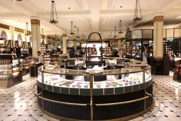 Harrods Food Hall redesign begins with opening of new Roastery and Bake Hall