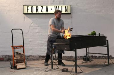 Forzawin's Spring brunch project in Bermondsey