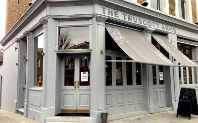 The Truscott Arms returns with Racine's Henry Harris leading the kitchen