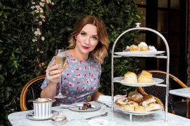Try GBBO winner Candice Brown's afternoon tea at Dalloway Terrace