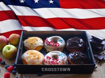 Crosstown launch all-American doughnuts for Independence Day