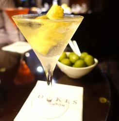 Does Dukes London serve the city's best martinis?