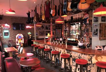 Rock and roll at Stoke Newington's new 50s pub Be-Bop-A-Lula
