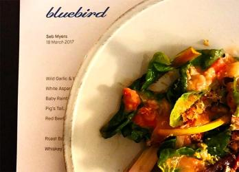 Bluebird Bar at The Laughing Heart opens with chef Sebastian Myers at the helm