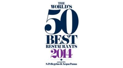 The World's 50 Best Restaurants 2014 - the full list