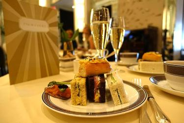 Test Driving Cherish Finden's afternoon tea in Palm Court at the Langham