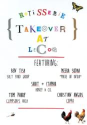 Ben Tish to host first Rotisserie Takeover at LeCoq