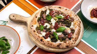 Deliveroo Editions brings in Lievita from Milan for delivery-only Italian pizzeria