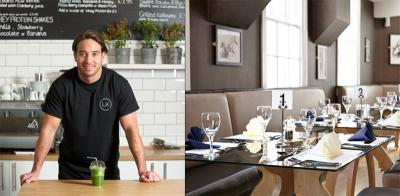 Eat lunch with Lockie from TOWIE at HMP Brixton's Clink Kitchen