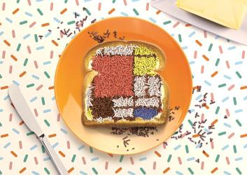 Everything is better with sprinkles at EasyJet's Leicester Square pop-up
