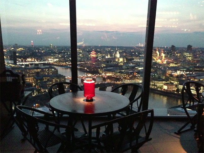 Test driving hutong at the shard test drive gastroblog for Restaurants at the shard