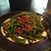 Spicy minced pork with string beans