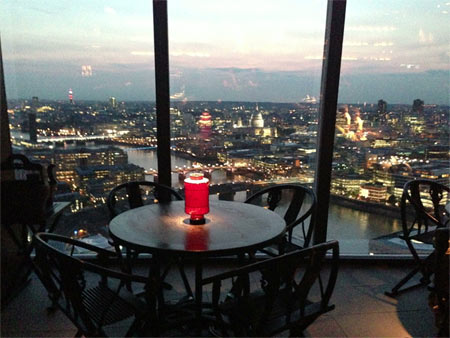 Test Driving Aqua Hutong at the Shard