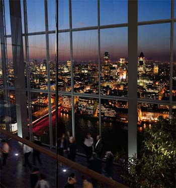 Oblix restaurant from the people behind zuma to take over for Restaurants at the shard