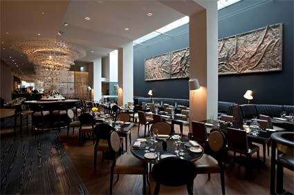 Avenue st james re launches with new chef new design and for American cuisine london