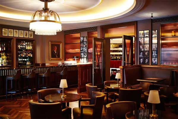 Corbin and king reveal plans for the colony grill room at for American cuisine london
