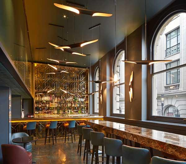 London dominates the 2014 restaurant and bar design awards for Restaurant design london