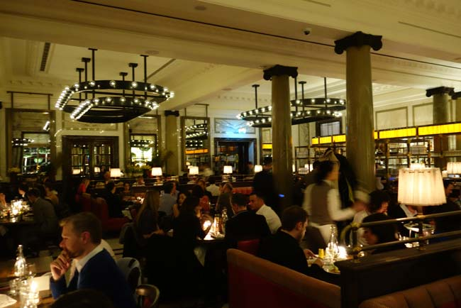 we test drive the rosewood's brasserie - holborn dining room