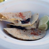"Huitlacoche ""truffle""quesadilla from Peyote"