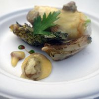 Dover sole 'Veronique', grilled baby gem from Andre Garrett at Cliveden